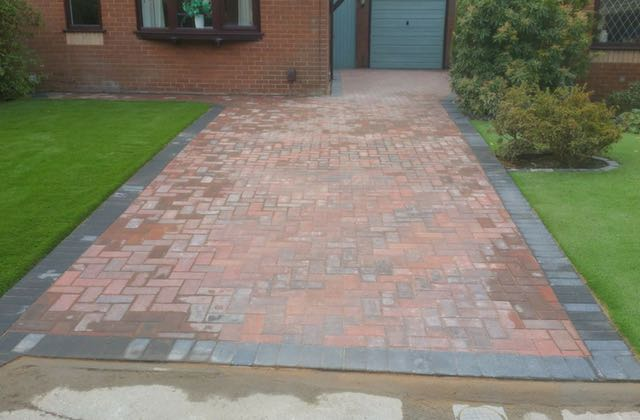 Block paving in Oldham, Royton and Shaw
