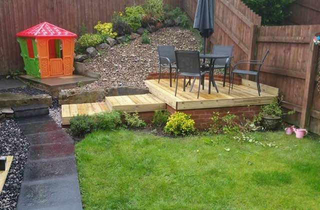 Decking in Royton, Shaw, Oldham
