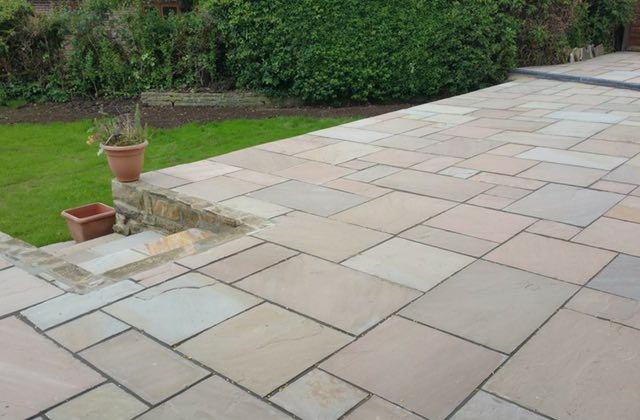 Patios in Oldham, Royton
