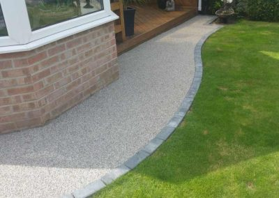 Resin Bound Walkway in Royton