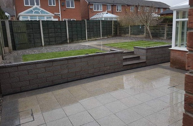 Patios in Oldham, Royton and Shaw