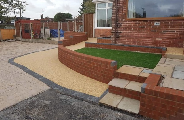 Resin Bound Gravel Driveways in Royton, Oldham, Shaw